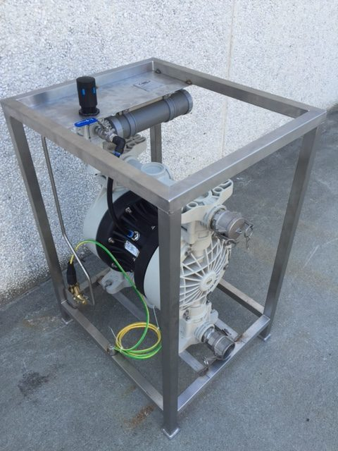 Air Driven Diaphragm Pumps « Habu Oilfield Supply